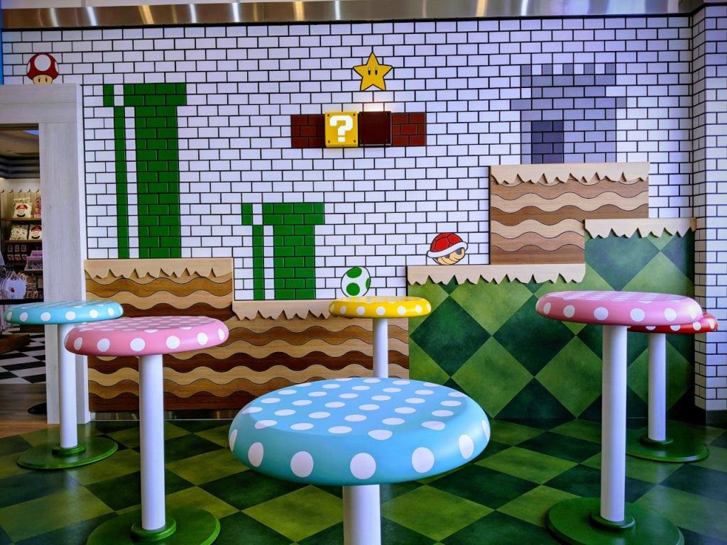 Cafe - Super Nintendo World