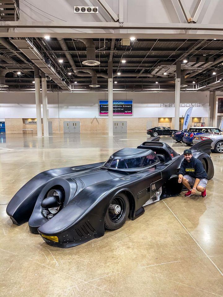Batmobile Mecum