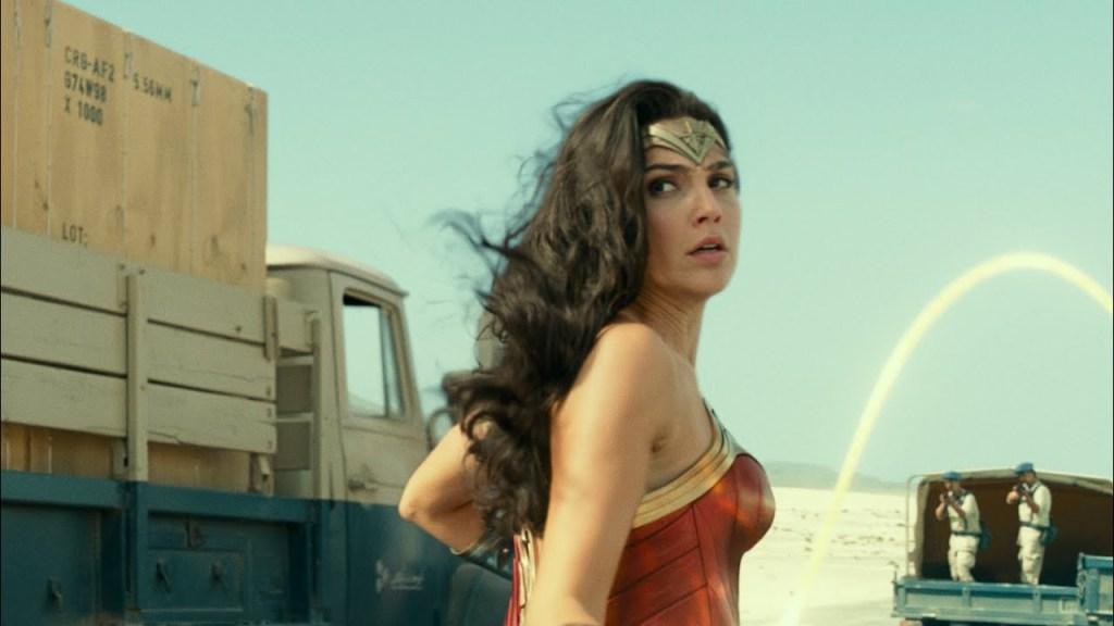 Wonder Woman 84 Opening Scene