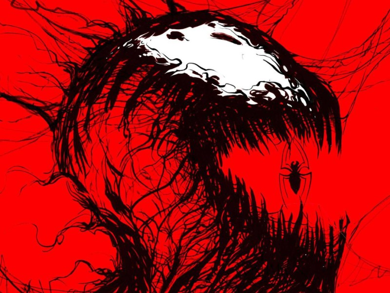 Carnage Black White Blood Comic Cover