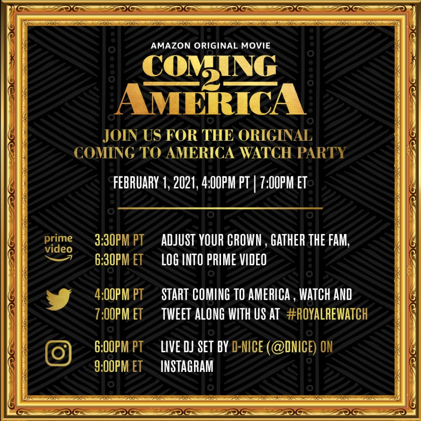 Watch Party Schedule