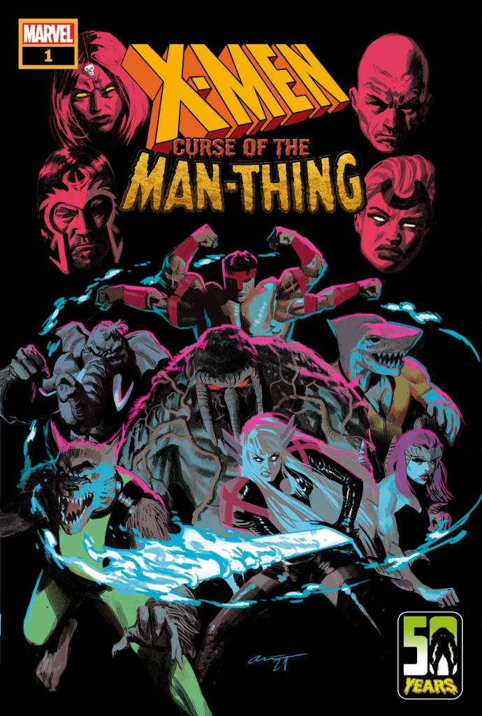 Curse of the Man-Thing Cover X-Men