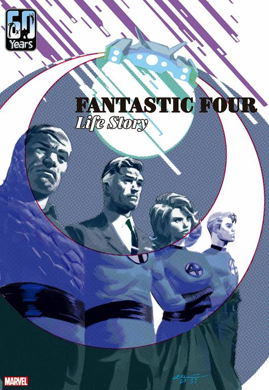 Fantastic Four Life Story Cover