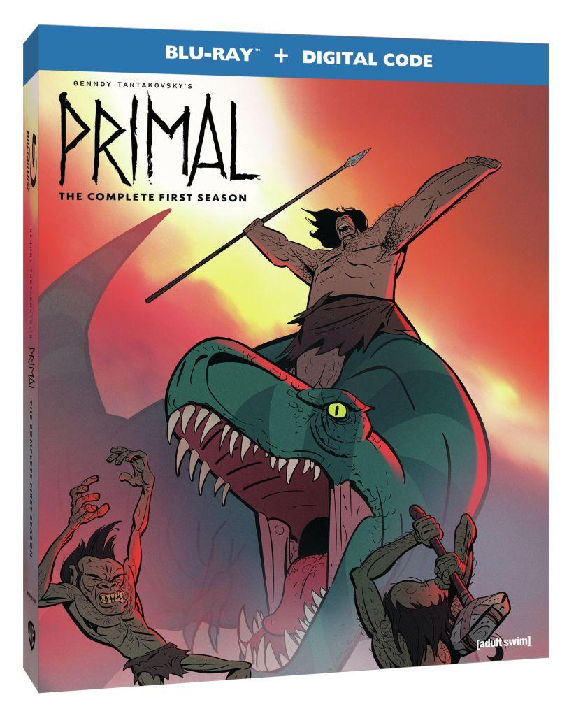 Primal Blu-Ray