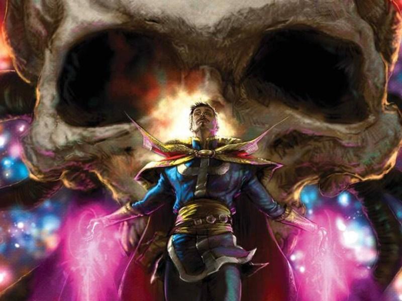 Death of Doctor Strange Cover