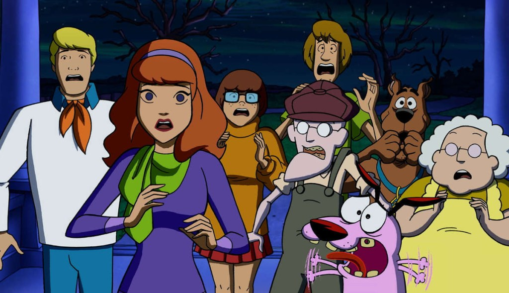 Scooby-Doo Meets Courage The Cowardly Dog