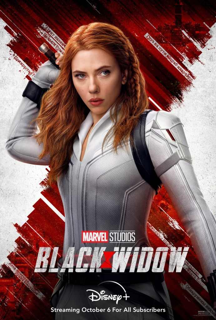 Black Widow Disney+ Poster