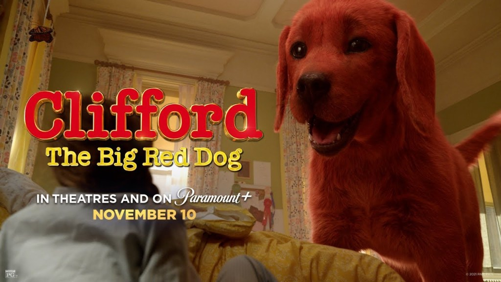 Clifford The Big Red Dog Banner