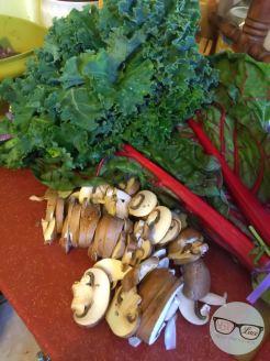 Kale Salad - Kale & Mushroom