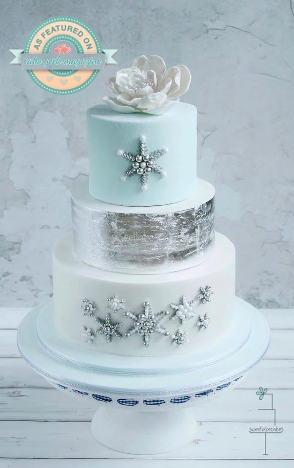 Wedding Christmas Cake 4