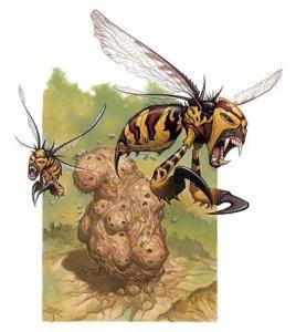 Famous Wizards of Distinction: Otiluke's howler wasps