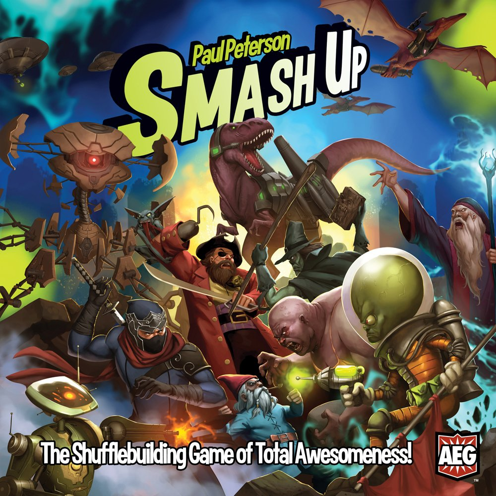 Board Games in Review – Smash Up –  Killer Combiner Card Game