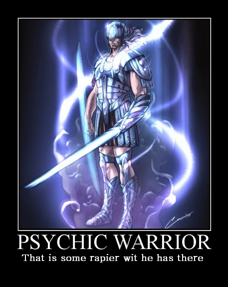 Psychic Warrior, a Psionic custom class for Dungeons and