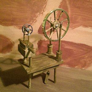 spinning wheel, spinningwheel, picture book, fairy tale, dimensional illustration, dimensional illustrator, art doll, ooak, folk lore, folklore