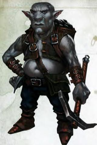 Svirfneblin D&D out of the box
