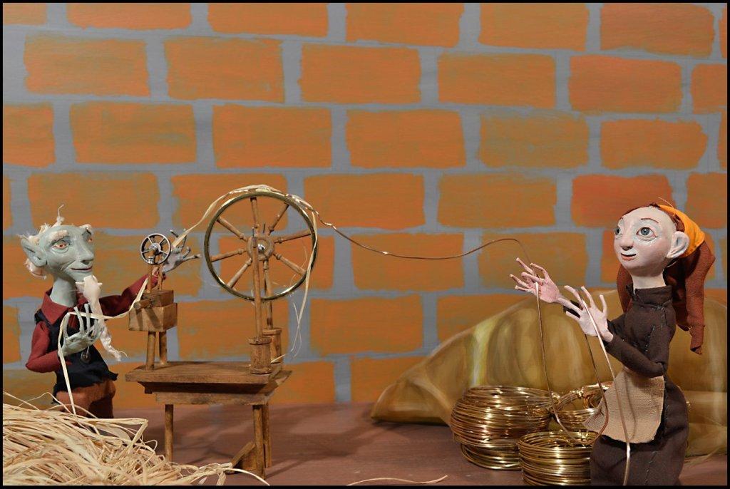 Rumplestiltskin, fantasy, Grimm's Fairy Tale, Picture book, fairy tale, art doll, ooak