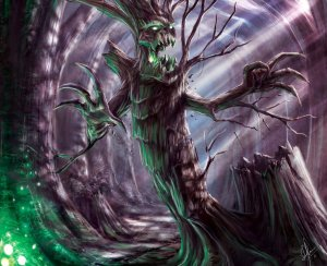 undead_treant_2_by_urielx1x-d41vlvt Life after Death, Reincarnation, and the Game Master 's Prerogative