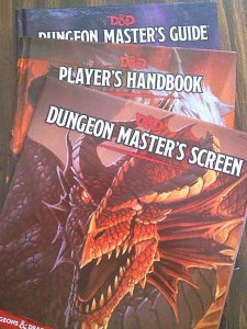 Can't find a local D&D game? Check your library