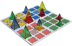 Board Games in Review – Martian Coasters – Looney Pyramids
