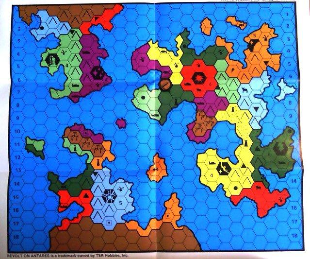Antares map