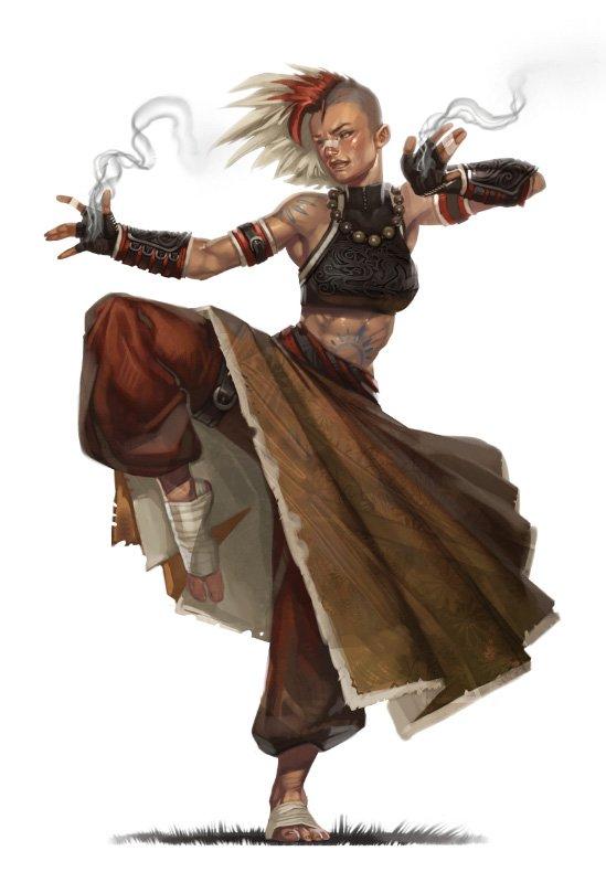 class to your class D&D quest starters monk