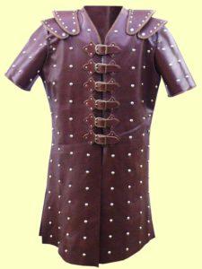 studded leather armor brigadine armor
