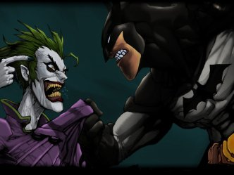 Joker vs Batman rivalry