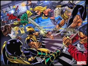 Mighty Avengers vs New Avengers rivalries