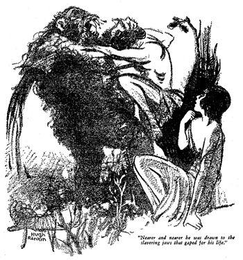 """Illustration for Robert E. Howard's """"Shad..."""