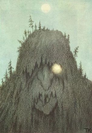 Skogtroll, 1906 (Forest Troll) troll