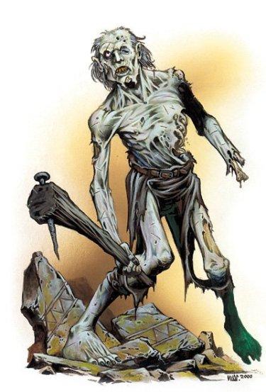 undead zombie necromancer