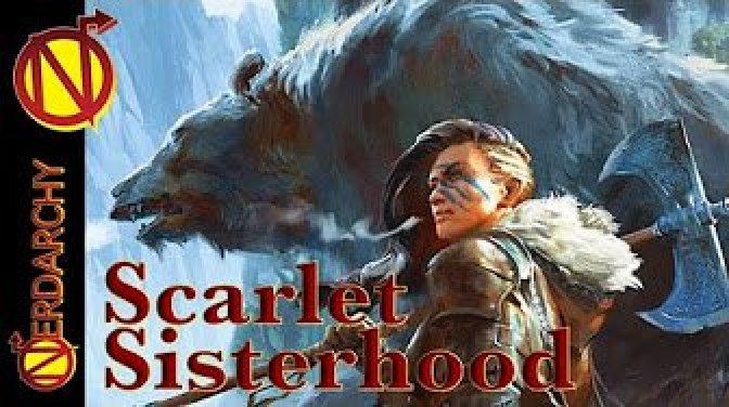 Scarlet Sisterhood streaming RPG on Nerdarchy's YouTube channel