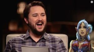 Wil Wheaton is the GM for the Titansgrave roleplaying game show.