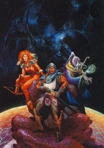 Spelljammer boxed set cover art by Jeff Easley
