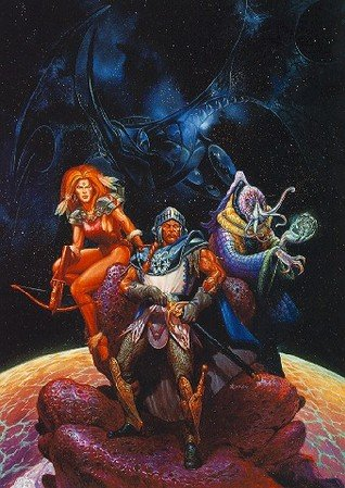 Spelljammer boxed set cover art by Jeff Easley