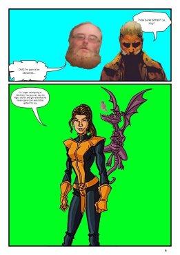 Nerdarchy comic book No. 1, page 6