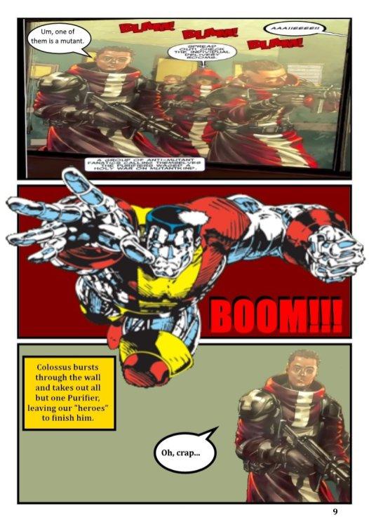 Nerdarchy comic book No. 1, page 9