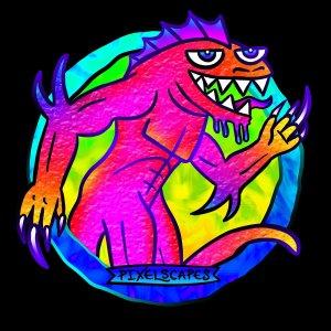 Pixelscapes D&D monster art