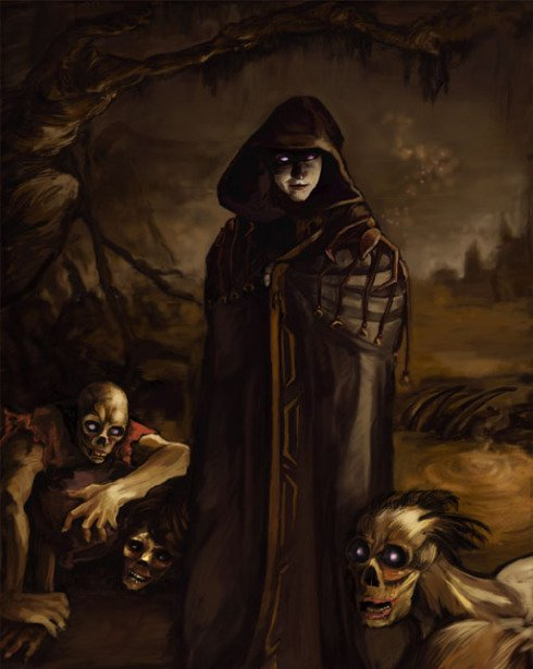 speak with dead necromancer necromancy Maxillae the Mad