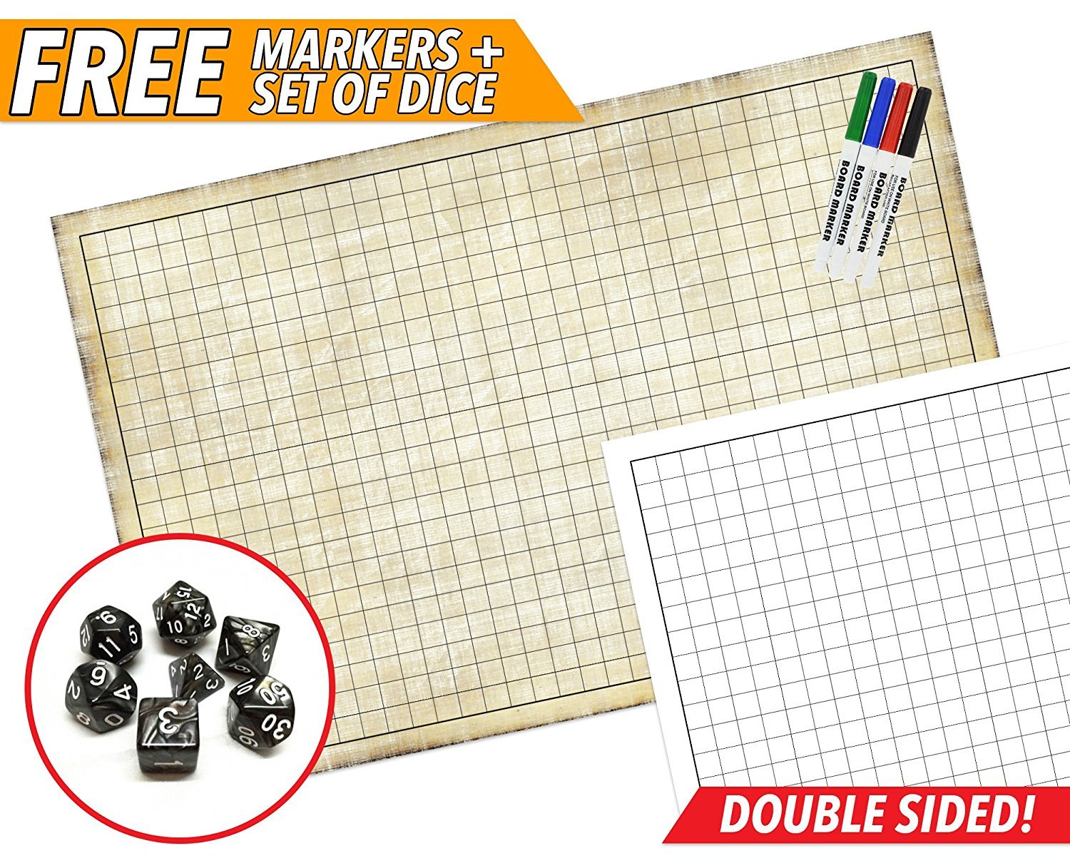 Map Your Combat with an RPG Battle Game Mat – Nerdarchy