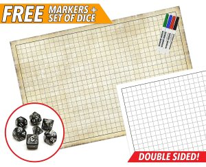 Map Your Combat with an RPG Battle Game Mat