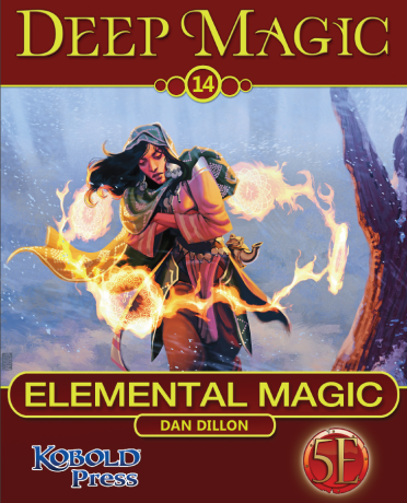 Deep Magic elemental magic kobold press