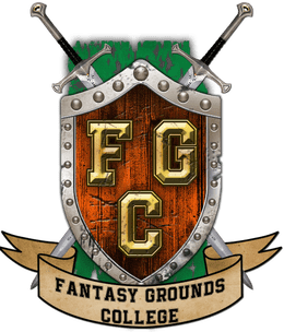 Fantasy Grounds College gaming D&D