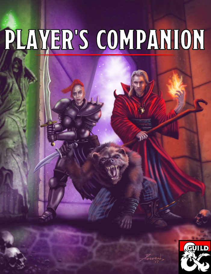 Homebrew Review: D&D Player's Companion from DM's Guild