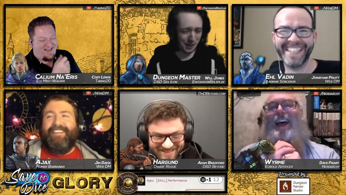 Live Stream D&D is a Playstyle All its Own
