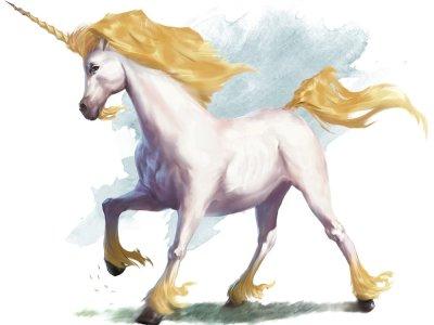D&D unicorn