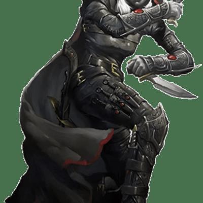 D&D character class rogue
