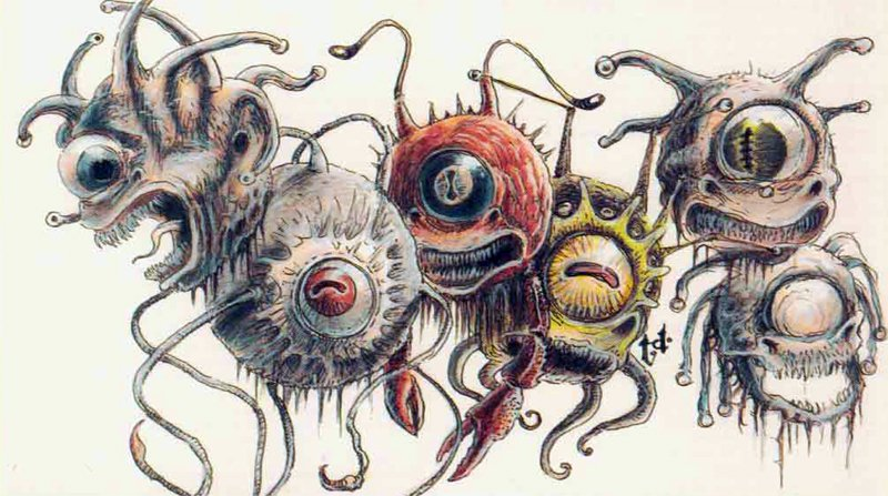 D&D monsters beholder