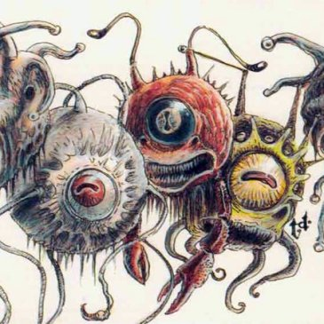 D&D monsters beholder