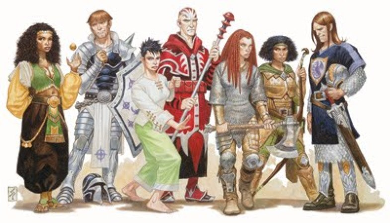 D&D playable races reskin all human campaign